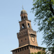 Castello Sforzesco - Milano  italy — Stock Photo