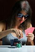Poker player — Stock Photo