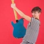 Guitar player — Stock Photo #22915010
