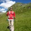 Stock Photo: Trekking