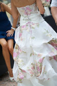 Bride dress — Stock Photo
