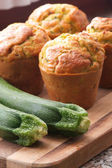 Muffins courgettes — Photo