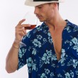 Wine man — Stock Photo
