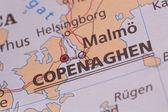 Scandinavian cartography — Stock Photo