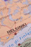 Finland - cartography — Stock Photo