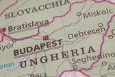 Hungarian cartography — Stock Photo