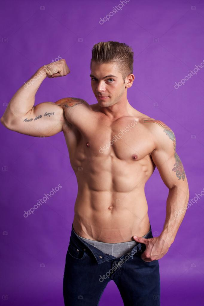Teen body building photo