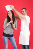 Cooking lessons — Stock Photo