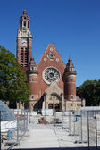 Sankt Johannes Church. Malmo Sweden — Stock Photo