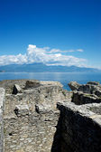 Caves of Catullus, Garda Lake,Italy — Stock Photo