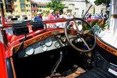 Old Alfa Romeo car — Zdjęcie stockowe