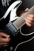 гитарист — Стоковое фото