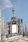 Milão - cúpula — Fotografia Stock