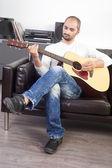 Gitarrist — Stockfoto