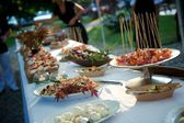Bridal buffet — Stock Photo