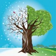 Royalty-Free Stock Vector Image: Season Tree