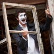 Royalty-Free Stock Photo: Portrait of a Man mime.