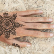 Stock Photo: Mehendi