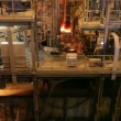 Melting steel samples results in an electric furnace — Stock Video