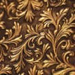 Expensive copper texture with a beautiful pattern — Stock Video