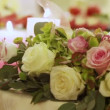 Beautiful wedding bouquet — Stock Video