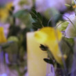 Decorated with flowers and candles — Stock Video #39831711