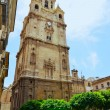 Belfry of the cathedral in Murcia — Stock Photo