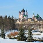 il parco di feofaniya in inverno — Foto Stock