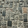Постер, плакат: Close up of the stone block pavement