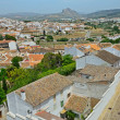 Spring view of Antequera - Stock Photo