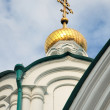 Details of orthodox cathedral, bottom view — Stock Photo #13498722