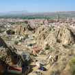 Stock Photo: Cave houses of Guadix