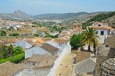Spanish white town Antequera — Stock Photo