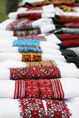 Ukrainian traditional embroidery — Stock Photo