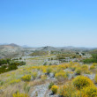 Country landscape of Murcia in spring — Stock Photo