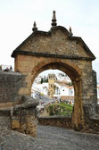 Landmark of the ancient Spanish town Ronda — Stock Photo