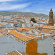 Spanish white town Antequera — Stock Photo