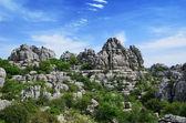 Impressive karst landscape — Stock Photo