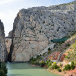 Gorge of the Gaitanes near El Chorro — Stock Photo