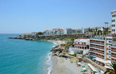 Nerja on the Costa del Sol in spring — Stock Photo