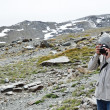 Photographing in the Sierra Nevada — Stock Photo