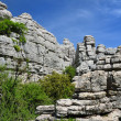 Impressive karst landscape — Stock Photo
