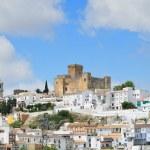 Spanish white town Santa Cruz in spring — Stock Photo #15620551