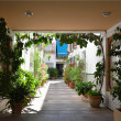 Andalusian patio of the typical Spanish house in Cordoba — Stock Photo