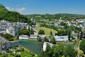 Summer view of Lourdes — Stock Photo
