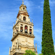 Bell tower of Mosque-Cathedral in Cordoba — Stock Photo