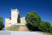 Medieval castle of Phoebus in Mauvezin — Stock Photo