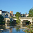 Stock Photo: Summer view of French city Pau