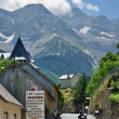 Mountain village Gavarnie in the Pyrenees — 图库照片