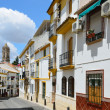 Narrow street of the ancient Spanish town Cabra — Stock Photo #24038771